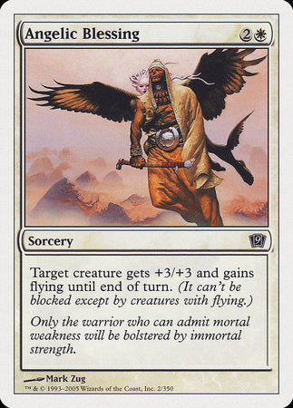 Angelic Blessing [Ninth Edition] | The Game Center - Gametraders Macarthur Square