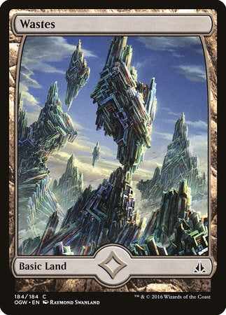 Wastes (184) - Full Art [Oath of the Gatewatch] | The Game Center - Gametraders Macarthur Square