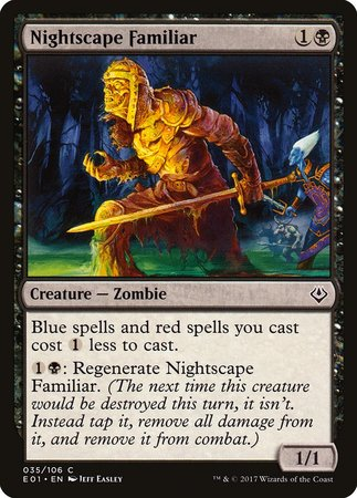 Nightscape Familiar [Archenemy: Nicol Bolas] | The Game Center - Gametraders Macarthur Square