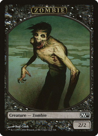 Zombie Token [Magic 2011 Tokens] | The Game Center - Gametraders Macarthur Square