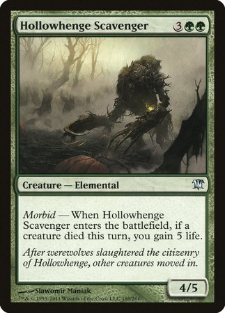 Hollowhenge Scavenger [Innistrad] | The Game Center - Gametraders Macarthur Square