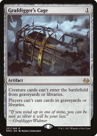Grafdigger's Cage [Modern Masters 2017] | The Game Center - Gametraders Macarthur Square