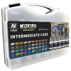 Wizkids Premium Paint Set by Vallejo: Intermediate Case | Gametraders Macarthur Square