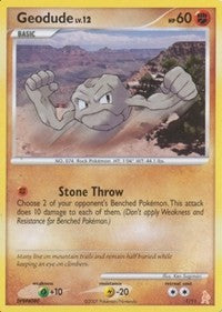 Geodude (1) [DP Trainer Kit: Manaphy & Lucario] | The Game Center - Gametraders Macarthur Square
