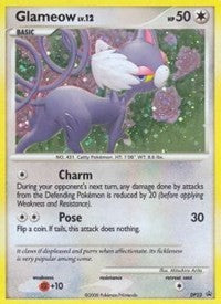 Glameow (DP23) [Diamond and Pearl Promos] | The Game Center - Gametraders Macarthur Square