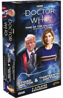 Doctor Who - Time of the Daleks Third, Eighth & Thirtheenth Doctor Expansion | The Game Center - Gametraders Macarthur Square
