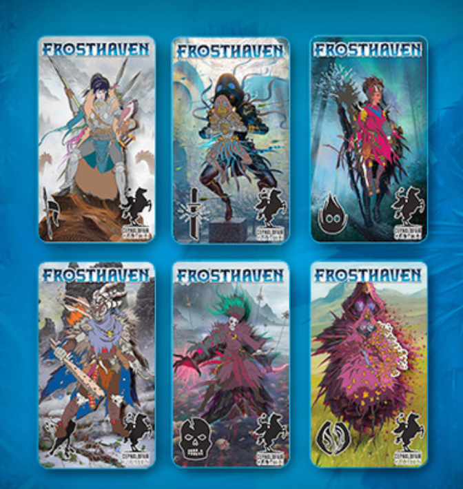 Frosthaven Pin Set | Gametraders Macarthur Square