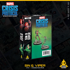 Marvel Crisis Protocol Miniatures Game Sin and Viper | The Game Center - Gametraders Macarthur Square