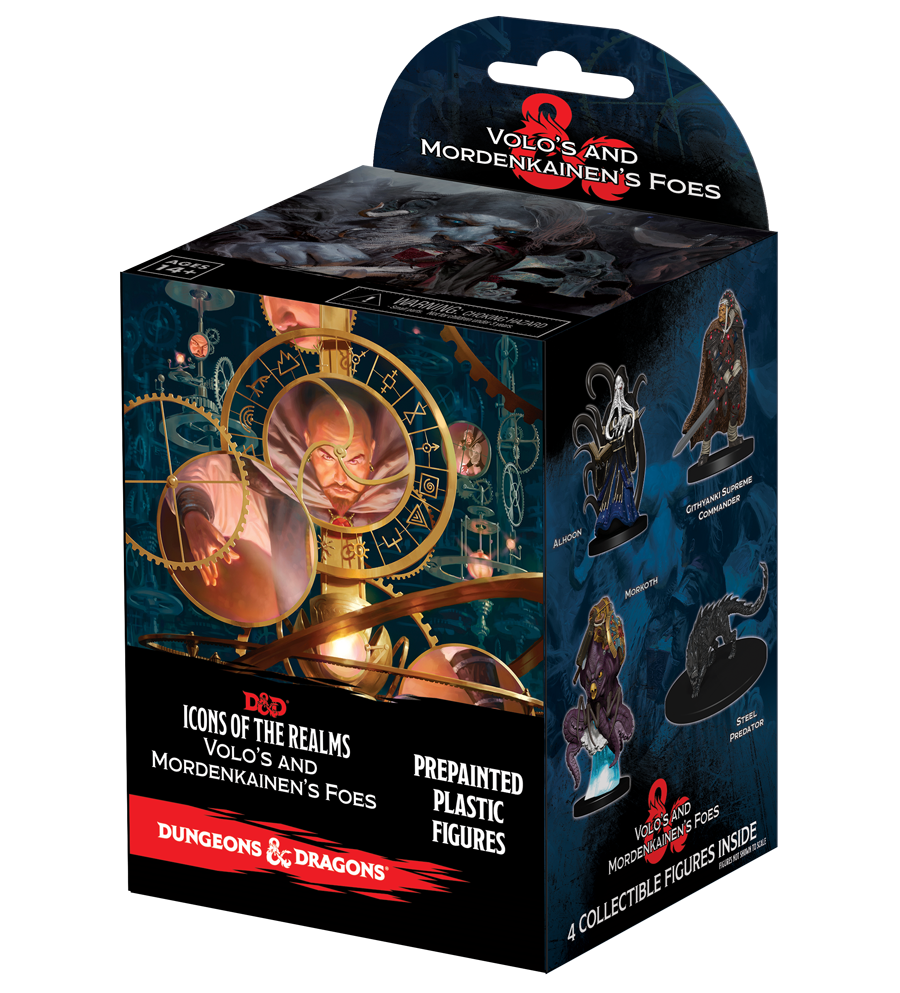 D&D Icons of the Realms Volo & Mordenkainens Foes Booster | Gametraders Macarthur Square