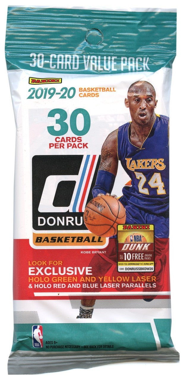 2019/20 Donruss Basketball Cards - Retail Booster Fat Pack Box | Gametraders Macarthur Square