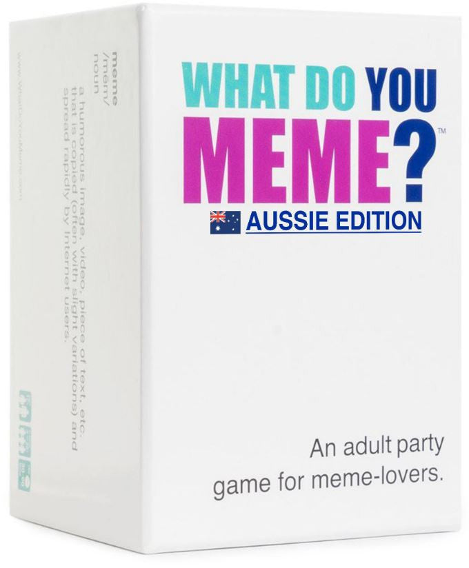 What Do You Meme? Aussie Edition | Gametraders Macarthur Square