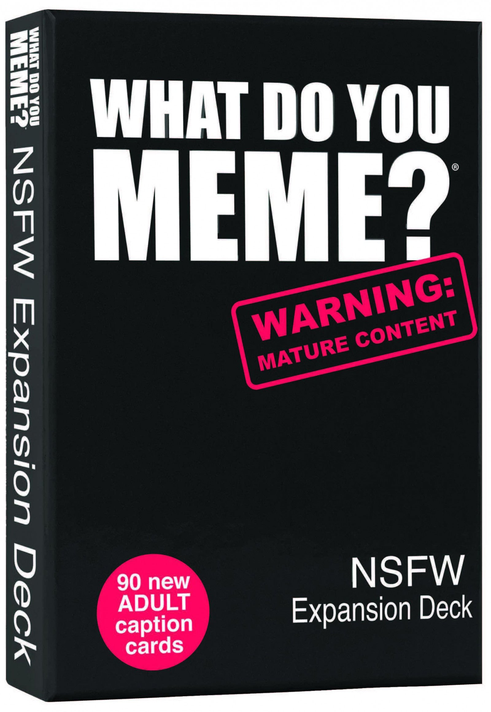 What Do You Meme? NSFW Expansion Deck | Gametraders Macarthur Square