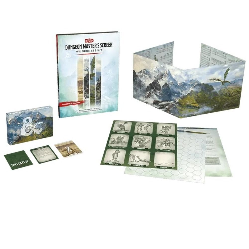 D&D Dungeon Master's Screen Wilderness Kit | Gametraders Macarthur Square