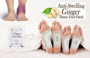 Anti-Inflammation/Swelling Ginger Foot Patch