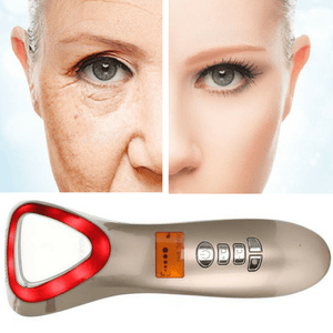 Facial Wrinkle Remover - Ultrasonic Vibration Massager