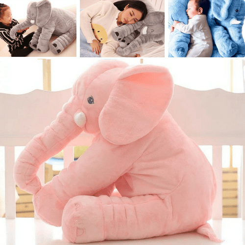 Elephant Plush Pillow - Elephant Plush Toy