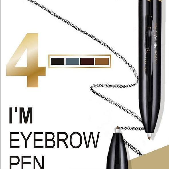 4 In 1 Eyebrow Pen