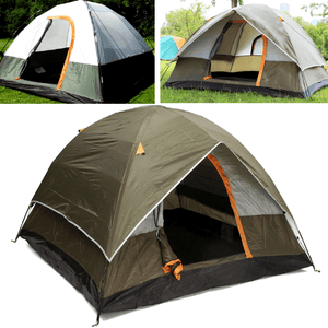 4 People Double Layer Tent - Outdoor Tent - Weather Resistant