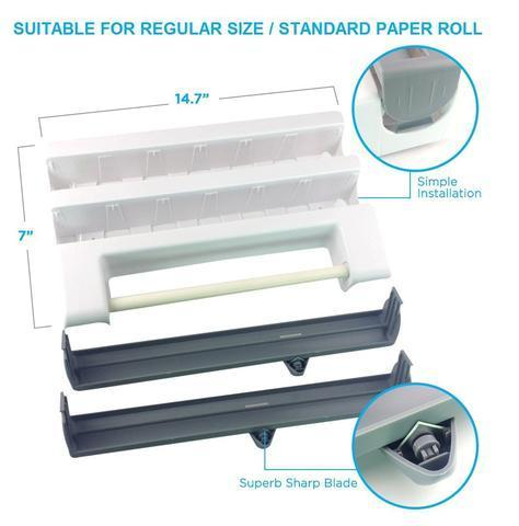 4 in 1 Kitchen Wrap Dispenser