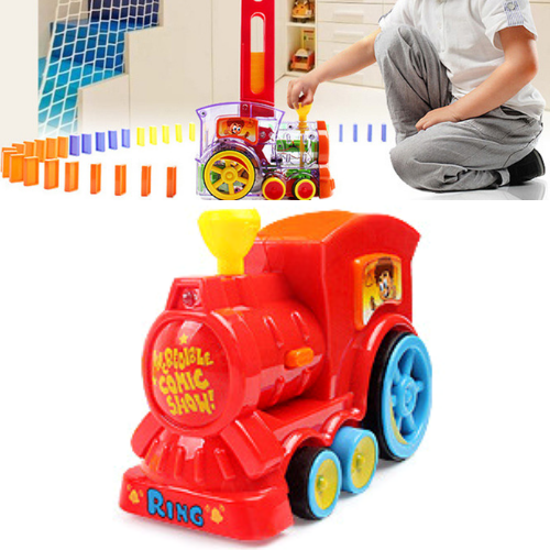 The Original Automatic Domino Laying Toy Train