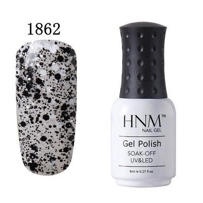 Nails - Soak Off Nail Polish - HNM Semi Permanent UV Nail Gel Polish