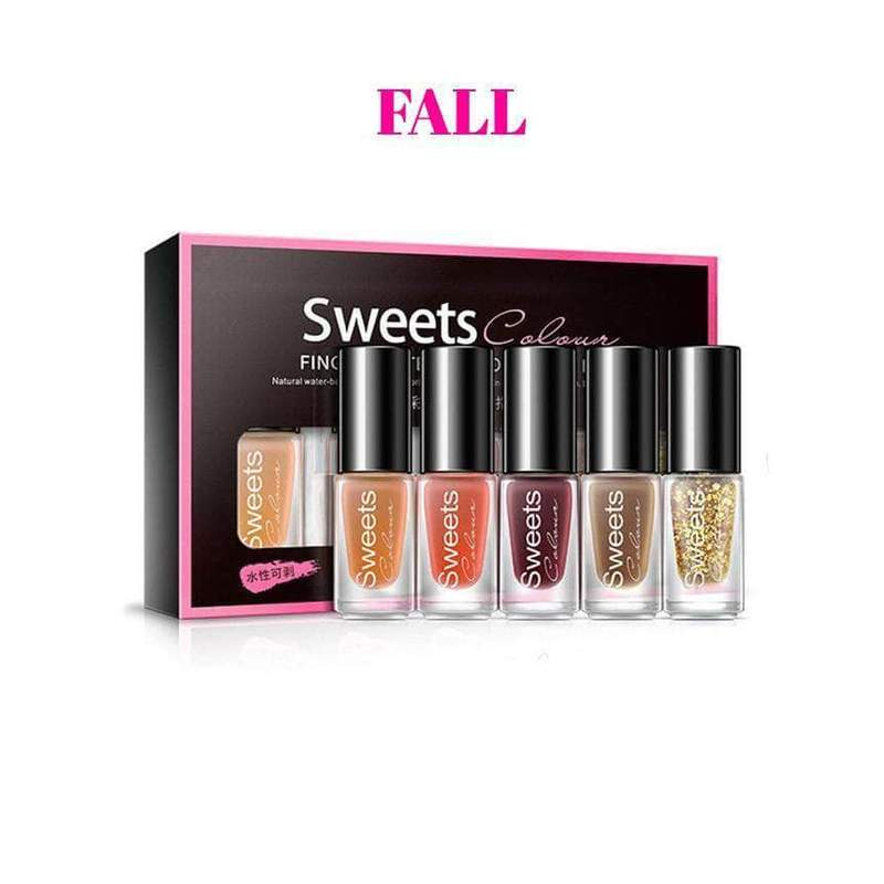 Sweets™ Peel Off Nail Polish (Set of 5)