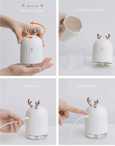 Portable Mini Ultrasonic Air Humidifier