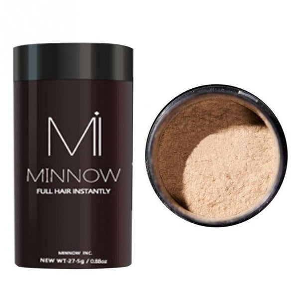 MINNOW Hair Building Fibers - Hair Fibers Powder