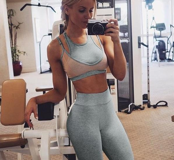 High Waist Fitness Set