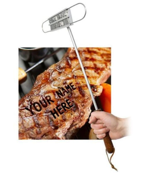 Barbecue Meat Branding Iron