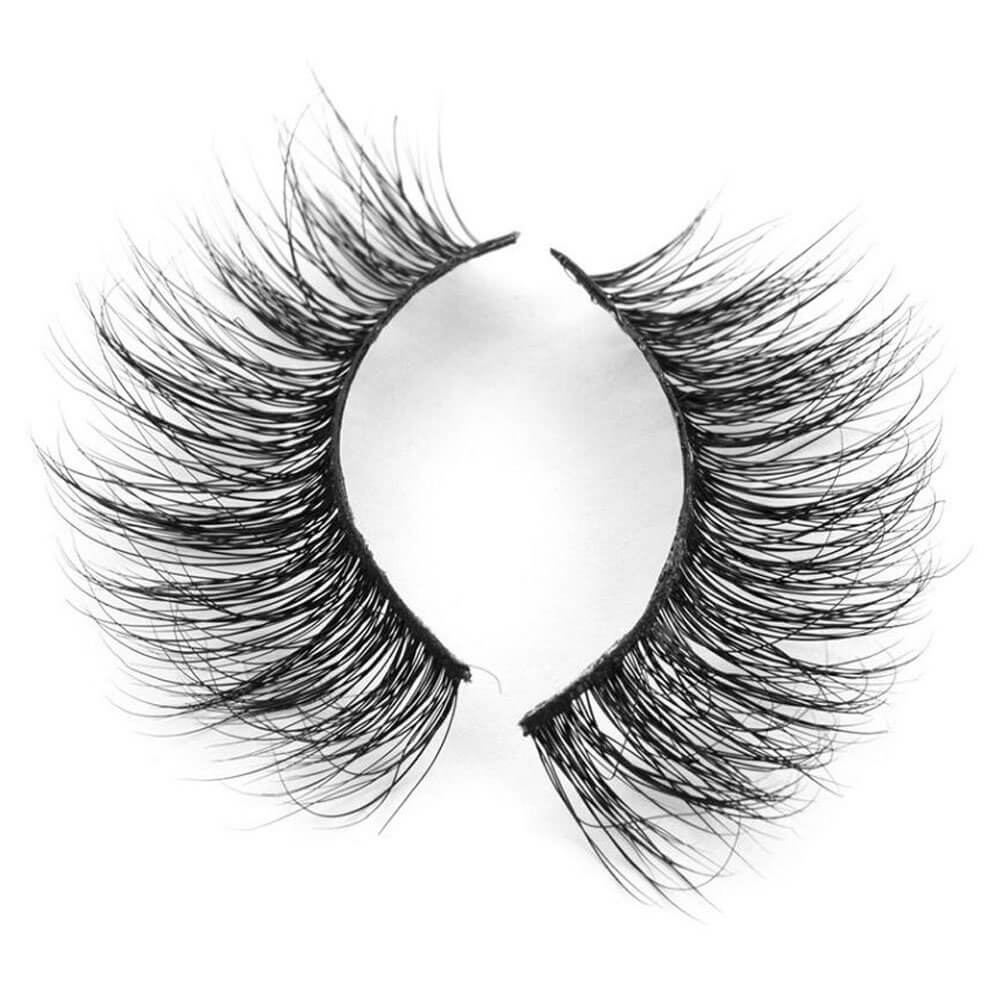 Fake Eyelashes - 3D Mink Lashes - Layla