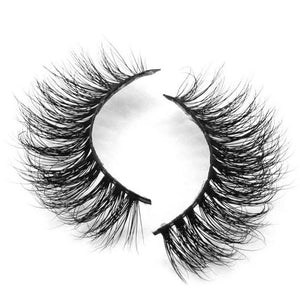 Fake Eyelashes - 3D Mink Lashes - Livia