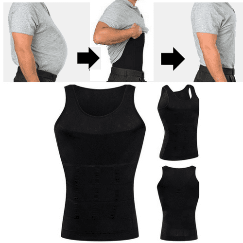 Men's Body Slimming Vest - Instantly Slims Down