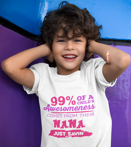 99% of a Child's Awesomeness