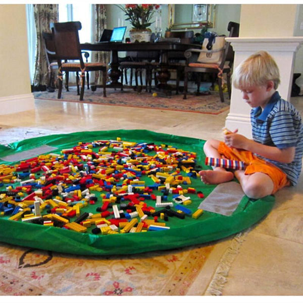 All-In-One Portable Play Mat and Storage Bag