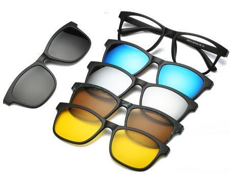 Magnetic Snap-On Sunglasses