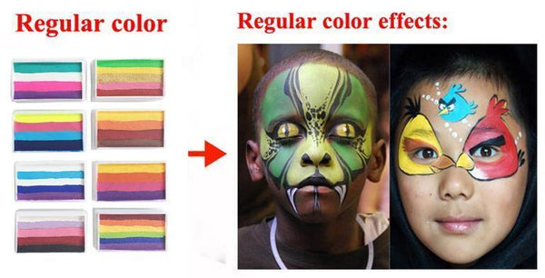 Rainbow Body Face Paint