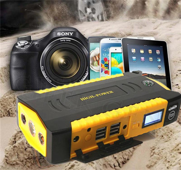 Multi-Functional Car Jump Starter 16000 mAh Power Bank