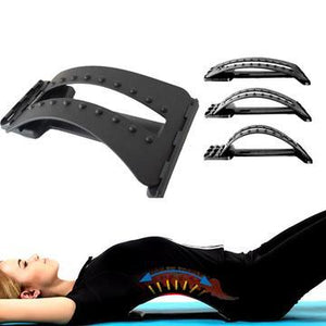 Adjustable Back Stretcher and Traction Massager