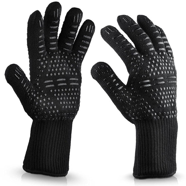 932℉ Extreme Heat Resistant BBQ Fireproof Gloves
