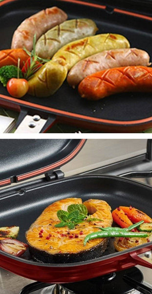 Double Sided Multi Purpose Frying Pan