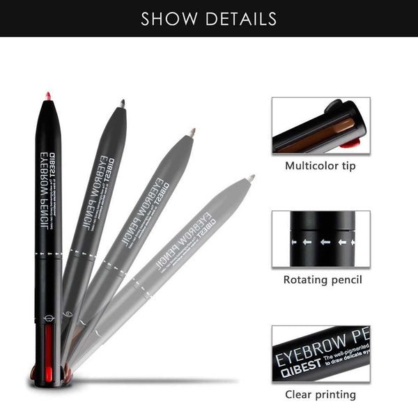 Lip N' Brow Wonder Shaper - 4 in 1 Eyebrow Pen & Lip Liner