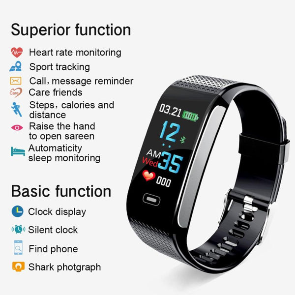 #1 Activity Tracker with Heart Rate Monitor