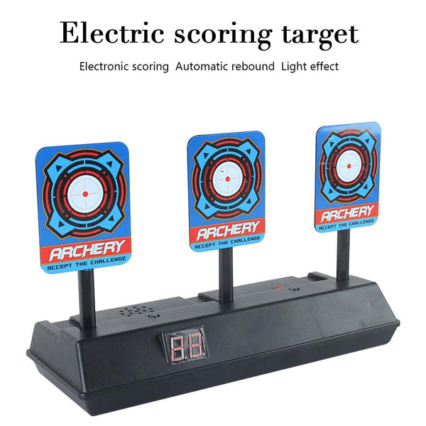 Intelligent Auto-Reset Scoring Target Toy