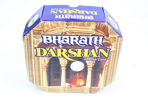 Darshan 24 hour Incense Coils Pack of 10