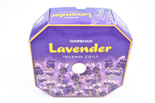 Lavender 24 hour Incense Coils Pack of 10