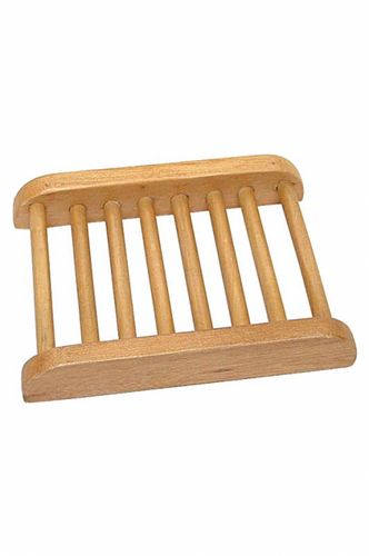 Maplewood Slatted Soap Tray