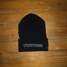 Load image into Gallery viewer, Two Tone Brand Beanie