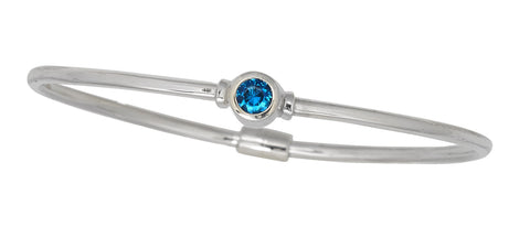 Cape Cod Birthstone Bracelet (December)