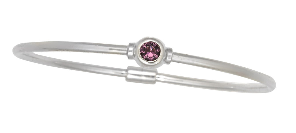 Cape Cod Birthstone Bracelet (February)